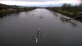 the boat race in Newburn