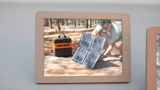 KaliPAK™ is a portable, renewable energy generator