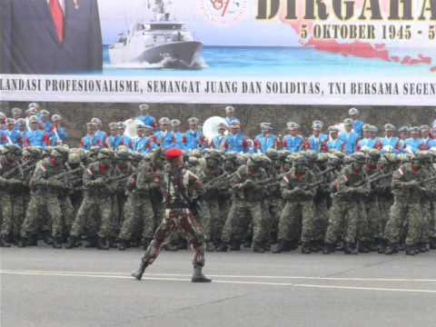 Indonesian Army Yel and Loud