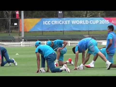 2015 WC: India Team leaves Hamilton