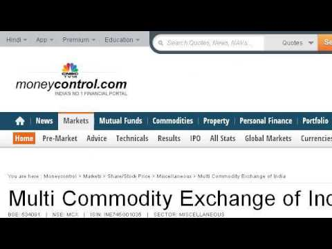 Comparison Of The Stock Exchange Commodity And Power Exchange