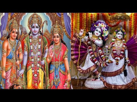 kabhi Ram Banke Kabhi Shyam Banke - Lord Ram & Shyam Devotional Bhajan video