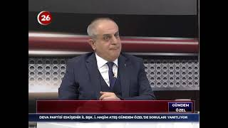 Gündem Özel | İsmail Haşim Ateş DEVA Partisi Eskişehir İl Başkanı