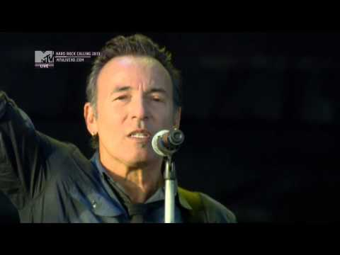 Bruce Springsteen - Atlantic city (hrc 2013 ) bruce springsteen