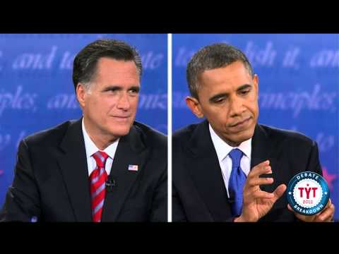 Obama Rips Romney In Final Debate - The Best Lines video