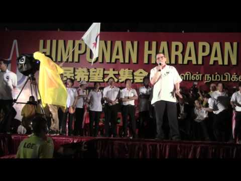 Lim Kit Siang at Han Chiang High School 29 Apr 2013