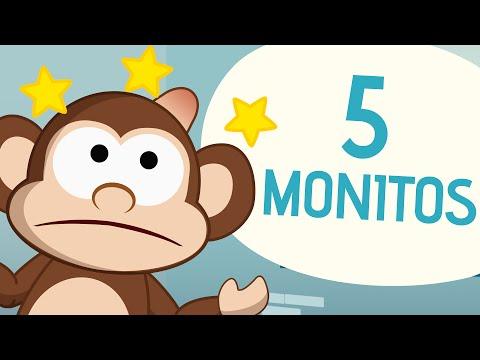 5 Monitos - Canciones Infantiles - Toobys