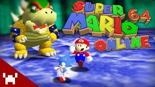 MARIO WITH FRIENDS | Super Mario 64 Online w/ Ze, Chilled, & Tom