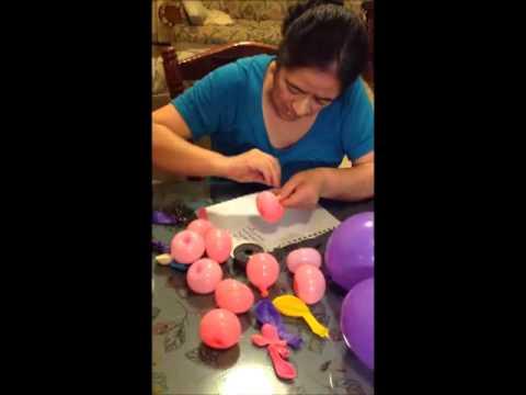 Fiesta para ni os gusano con globos youtube for Decoracion casa con ninos