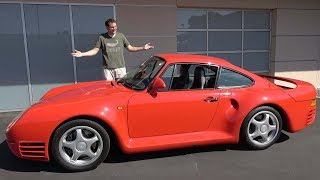 Porsche 959 - это икона автомобилестроения за $1,5 миллиона