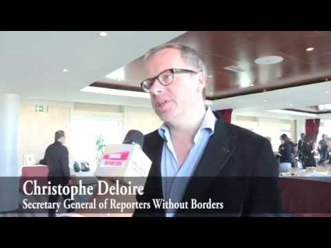 Junior Reporter Interview Christophe Deloire UNESCO World Press Freedom Day 2014