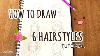 TUTORIAL || How to Draw HAIR