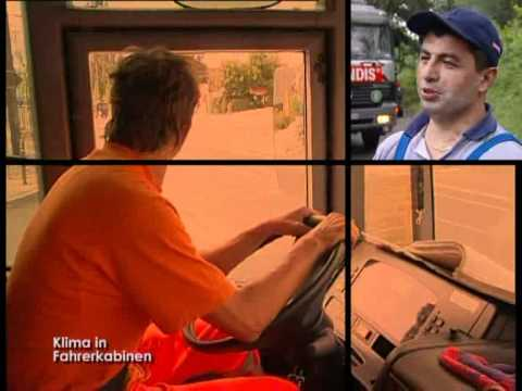 Klima in Fahrerkabinen - Alltag eines Entsorgers