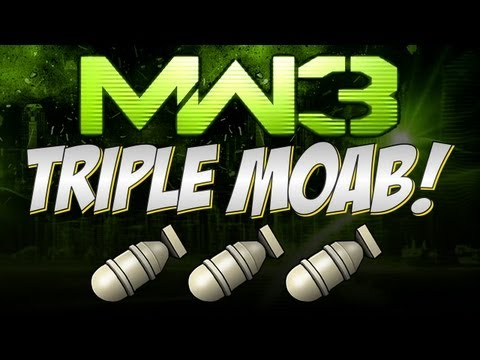 MW3 Online - TRIPLE MOAB!!! - 76-3 ft on Bootleg - Zaphize Gameplay
