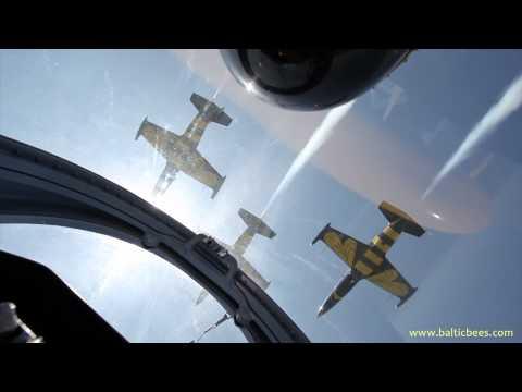 Baltic Bees Jet Team Air Show Program