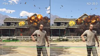 Grand Theft Auto 5: PS4 vs Xbox One Frame-Rate Stress Tests