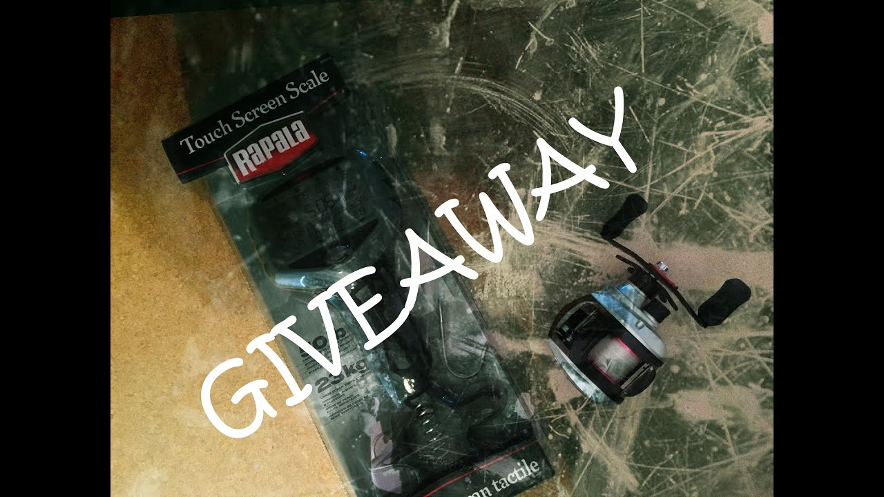 1500 2000 subcriber giveaway fishing gear fishing central for Free fishing tackle giveaway