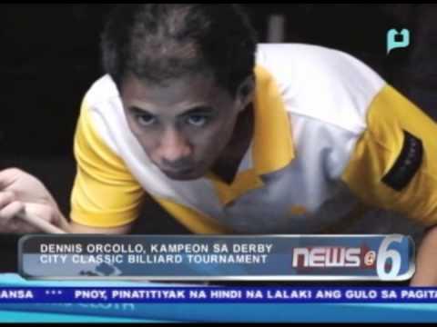 : Dennis Orcollo, kampeon sa Derby City Classic Billiard Tournament