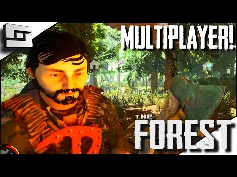 The Forest Multiplayer - DERPING THE UPDATE! E29 ( Gameplay )