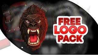 Mascot Logo Pack | Free Download | Free Gaming Logos | Give way by [skull 007]