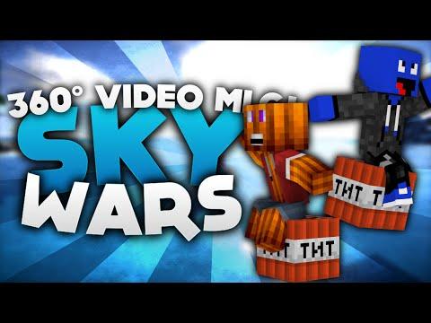 360° Video MLG! - Minecraft Sky Wars!   DieBuddiesZocken