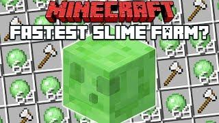 Minecraft 1.14: Fastest (Maybe) Slime Farm?