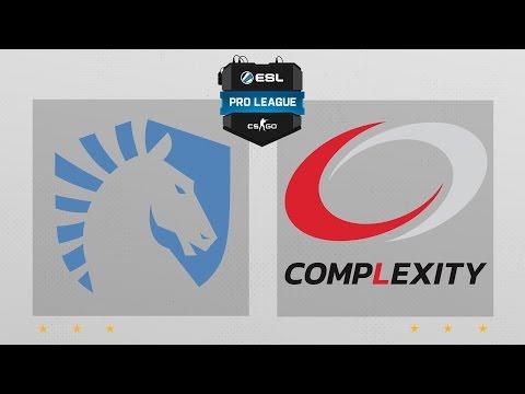 CS:GO - Liquid Vs. CompLexity [Dust2] Map 2 - ESL Pro League Season 4 - NA Matchday 22