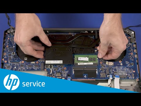 Replace the System Board   HP ZBook 17 G5, G6 Mobile Workstation   HP