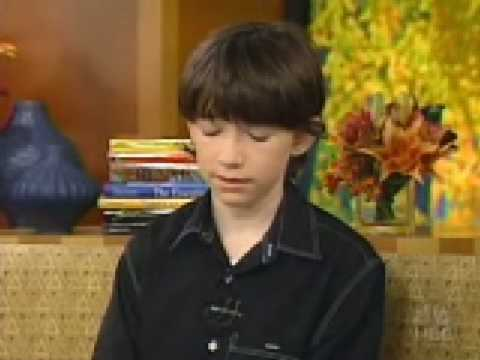 Liam Aiken Today Show 2003.Part 1. Video