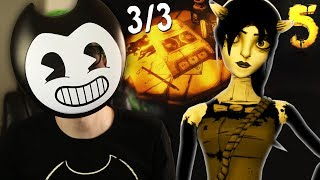 Bendy and the ink machine chapter 5 NEW DETAILS All 3/3 tapes - Theory