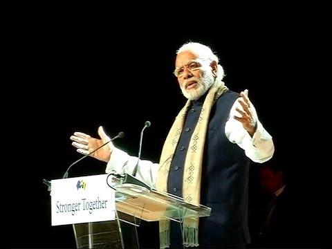 PM Modi's speech in Brussels