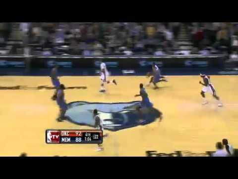 Memphis Grizzlies vs Oklahoma CIty Thunder (Game Recap)28/12/2011Highlights