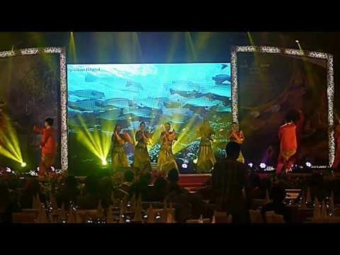 Iluk Semandak Dance - JKKN Sabah (ASEAN Tourism Forum 2014)