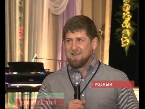 Награждение Р.Кадырова Макки Сагаиповой Чечня.