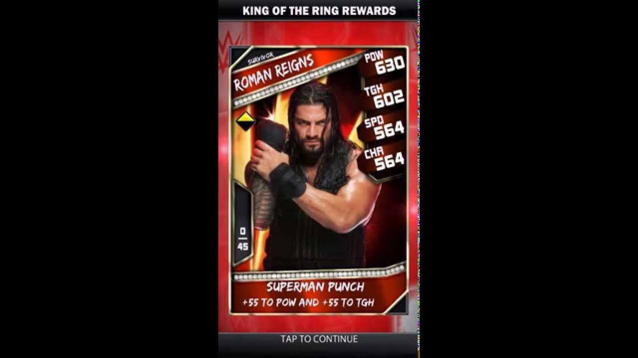 Wwe Supercard Kotr First  Survivor Cards First Legendary Support Youtube