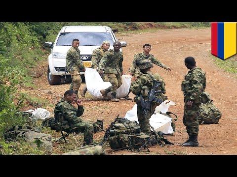 Colombia vs FARC: President Juan Manuel Santos restarts airstrikes after ambush kills 10