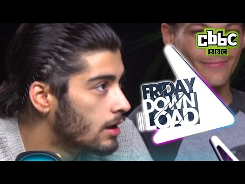 One Direction - How much do they love their fans? CBBC Friday Download