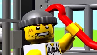 เกมส์ ตำรวจจับผู้ร้ายแหกคุก  เลโก้จูเนียร์เควส LEGO