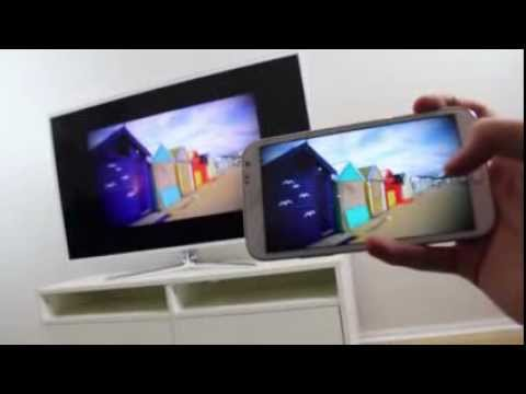 Samsung Smart TV Review - Galaxy Note 2 Streaming