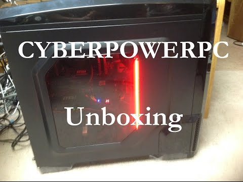how to connect cyberpower pc to monitor