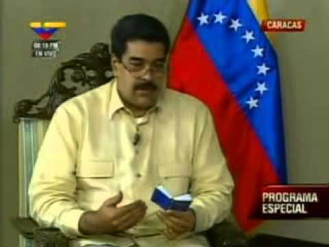 Entrevista COMPLETA a Nicolás Maduro este 4 de enero de 2013 (parte 1 de 2)