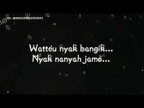 lirik Lagu juragan empang versi lampung