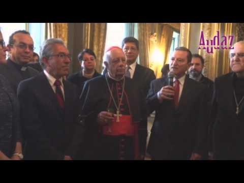 Recepción a Suarez Inda en embajada de México ante El Vaticano