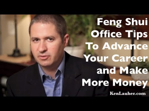 feng shui office tips to advance your career and make more money youtube. Black Bedroom Furniture Sets. Home Design Ideas