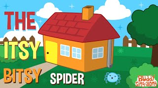 Itsy Bitsy Spider | Incy Wincy Spider | Nursery Rhymes | Kids Songs | Baby Songs