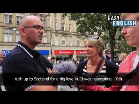 Easy English 10 - Should Scotland be independent?