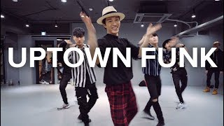 Download Lagu Uptown Funk - Bruno Mars / Junsun Yoo Choreography Gratis STAFABAND
