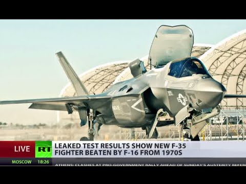 Leaked: New F-35 fighter jet beaten by F-16 from 1970s