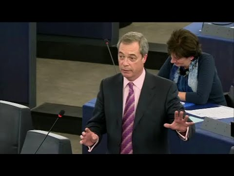 EU Commission - the Knackers' Yard for Failed Domestic Politicians - Nigel Farage