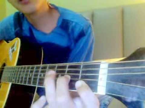 cara main gitar kord asas contoh lagu tegar aku yang dulu